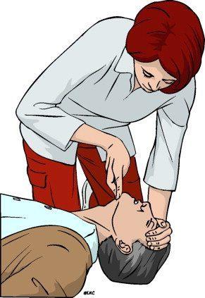 Оказание первой помощи открыть дыхательные пути