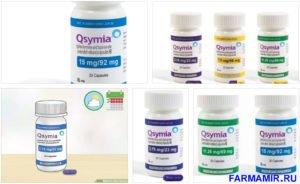 Фентермин и топирамат (Qsymia)