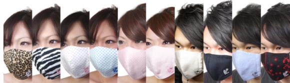 модные маски