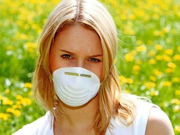 У вас аллергия на пыльцу? Вам поможет маска