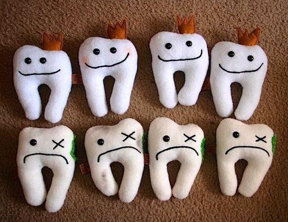 больные зубы кариес