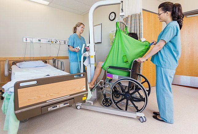 Ошибки, связанные с устройствами для ухода за больными