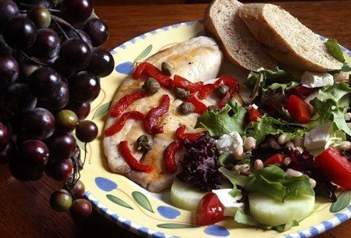 Придерживайтесь средиземноморской диеты