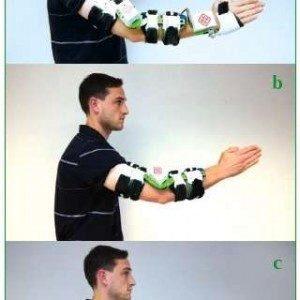 Носимый роботизированный рукав для реабилитации верхней конечности