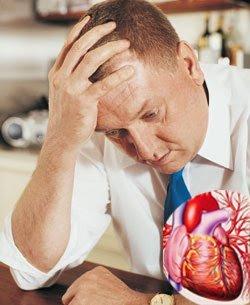 Депрессия и болезни сердца