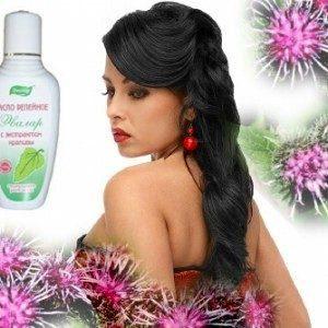 Маска для волос с репейным маслом – будущая сага о шикарных локонах