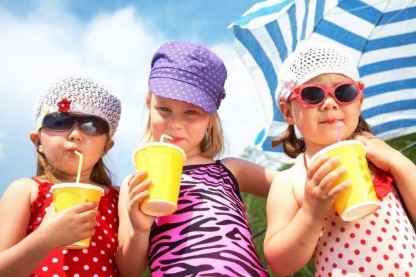 Здоровье детей летом_