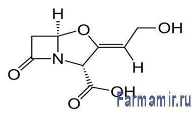 Клавулановая кислота (C8H9NO5)