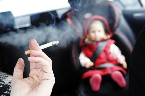 пассивное курение вредит детям