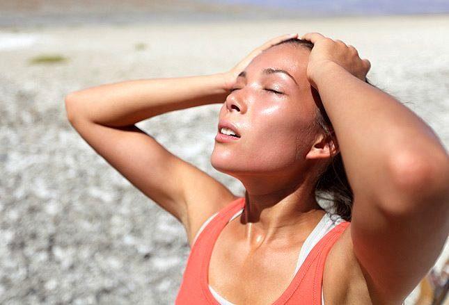 солнечный и тепловой удар