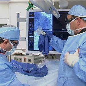 Врачи изготовляют 3D-модели сердца для подготовки к чрескатетерной замене клапана