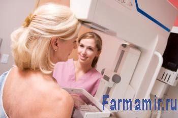 женщина мамография