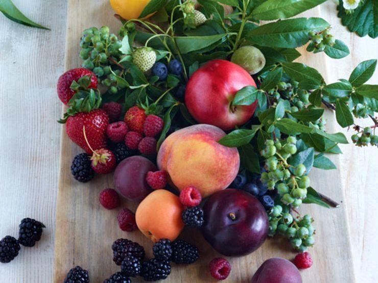фрукты, овощи, растительные жиры