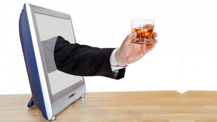 алкоголь в фейсбуке