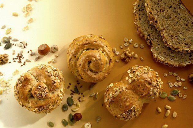 булочки, хлеб