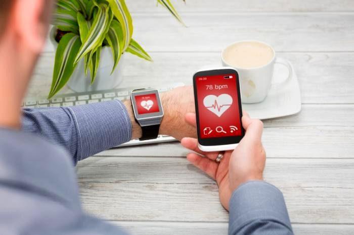 Человек-контроль-сердечного ритма