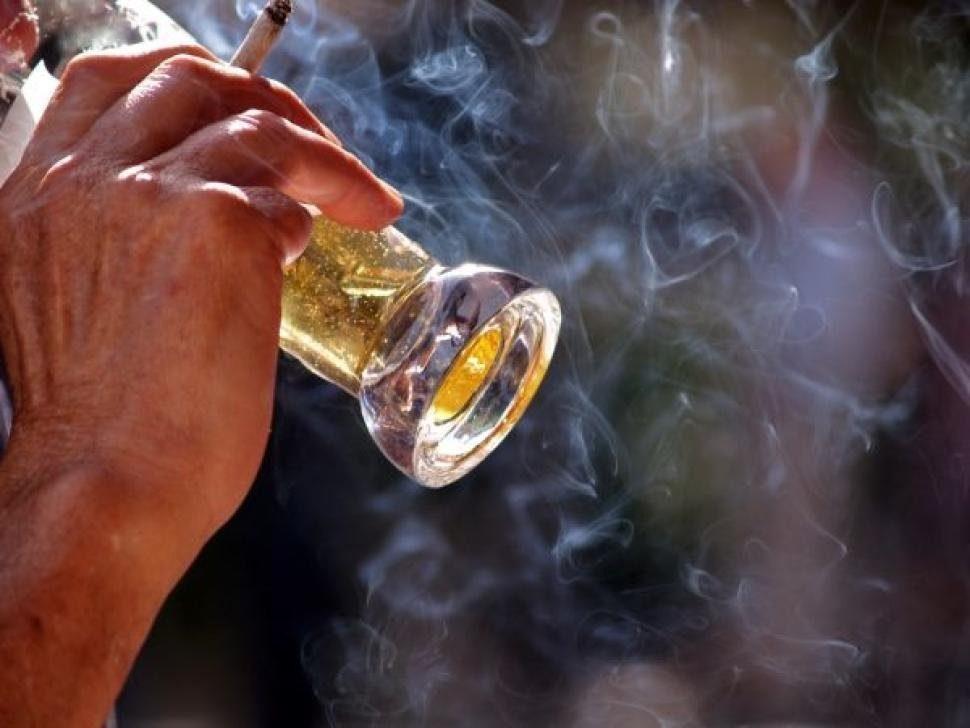 пить и курить