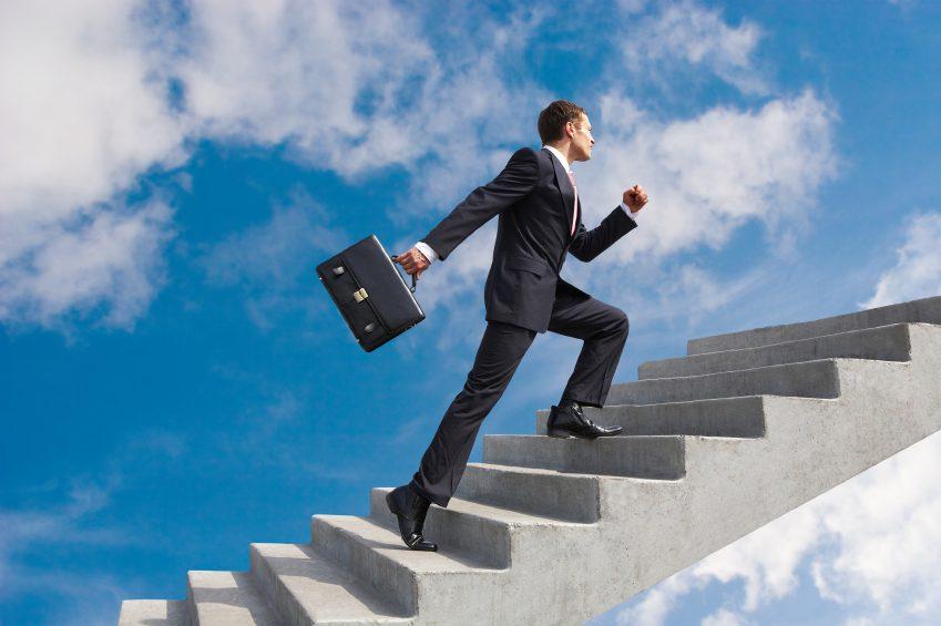 подъем по лестнице менеджер