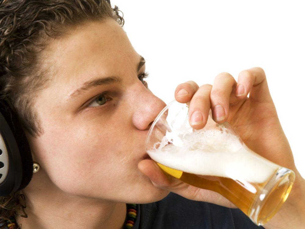 алкоголь на развивающийся мозг