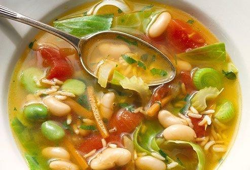 суп с бульоном