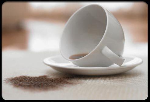 Употребление кофе разрушает зубы