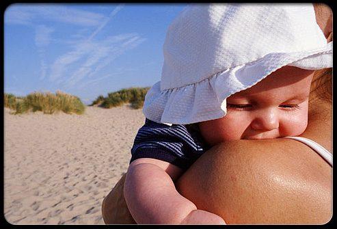 Солнечные ожоги у младенцев