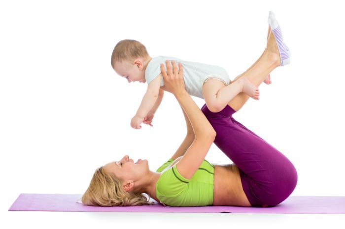 йога Мать и ребенок