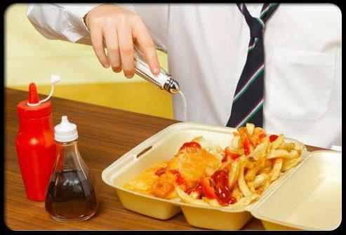 Факторы риска инсульта: питание