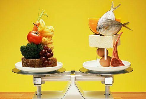 Особенность состава диеты по качественным показателям