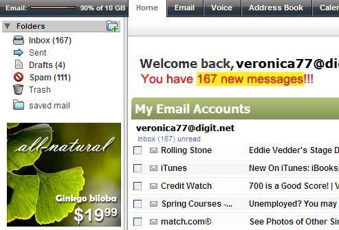 Проблема: Перегрузка электронной почты