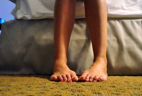 Симптомы РС: Слабость или онемение