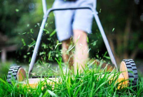Снижение: Работа по хозяйству