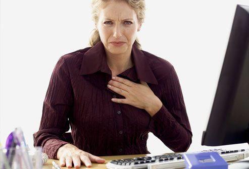 Симптомы гастроэзофагеальной рефлюксной болезни (кислотного рефлюкса)