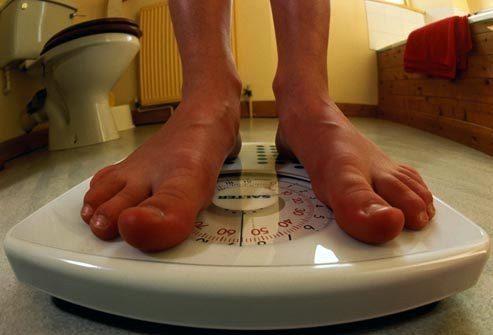 Предупреждающий признак: Снижение веса