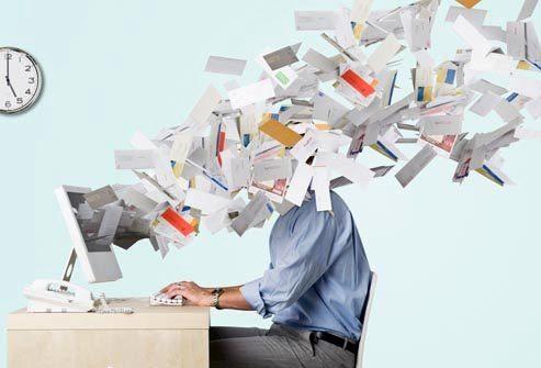 Подъем: стресс на работе
