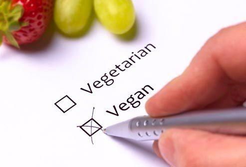 Снижение: Веганская диета