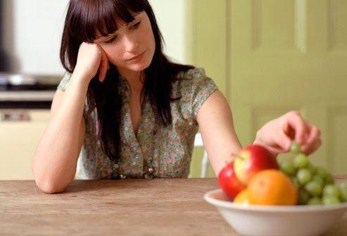Симптомы депрессии: Аппетит