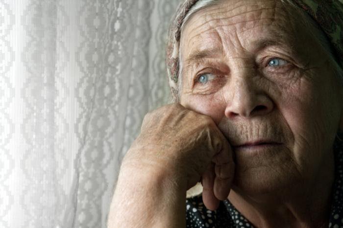 Депрессия не являетсянормальной частью старения