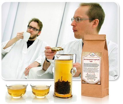 пропорции монастырского чая для похудения