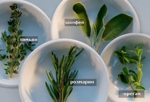 свежие травы для сердца
