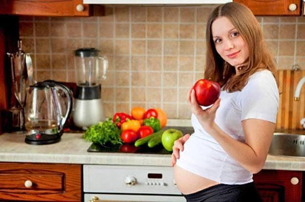 Беременные-вегетарианки