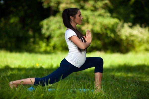 12 неделя беременности зарядка