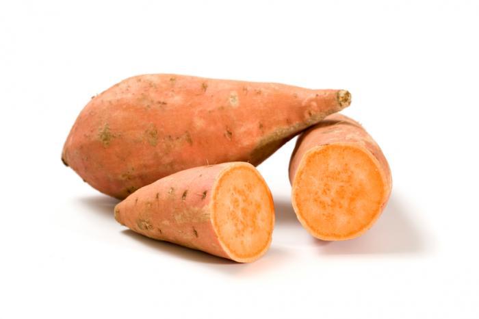 сладкий  картофель полезные свойства
