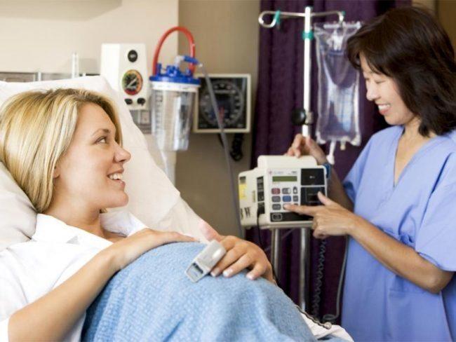 41 неделя беременности процедуру кардиотокографии