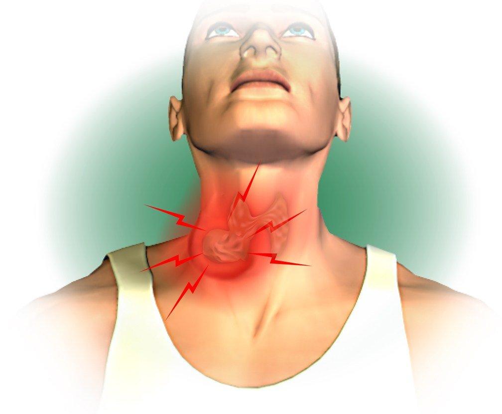 боли в щитовидной железе