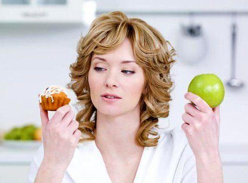 девушка похудеть яблоко кекс