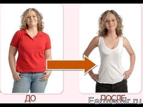 Сиофор инструкция для похудения до и после