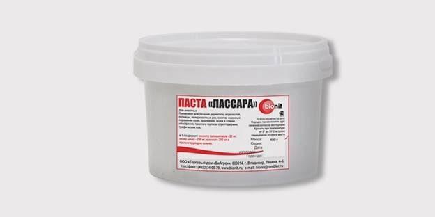 Мазь салицилово-цинковая (паста Лассара)