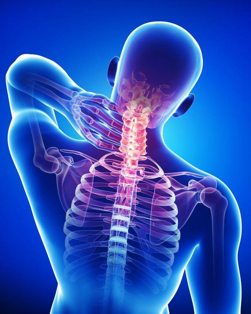 Рисунок 1. Боль в шее – достаточно распространенное явление