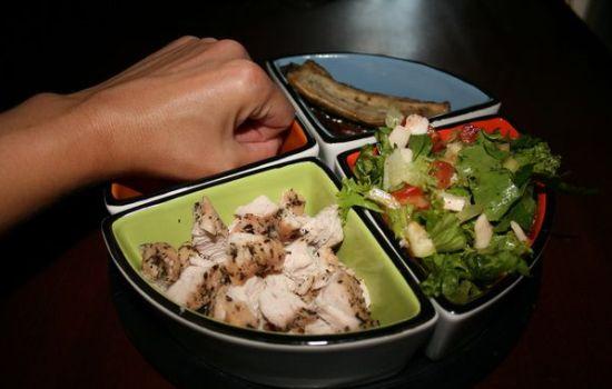нежирная пища